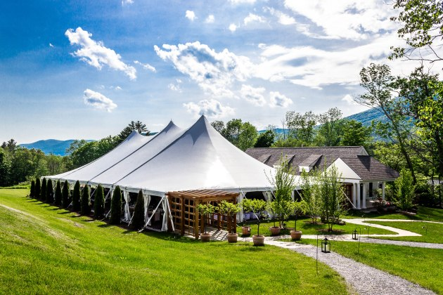 Vermont Reception Venue at Hildene by Janet Dunnington Events