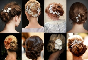Romantic up do hair styles, wedding hair styles, wedding planning, wedding salon, event and wedding ideas, event planner,  a favorite of Janet Dunnington Events