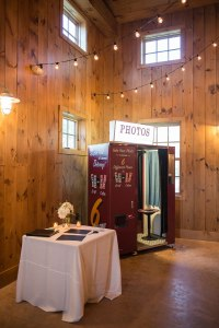 Picture of Photo booth in barn